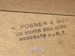 1963 MATCHBOX DEALER STORE DISPLAY CASE SERIES 1-75 CARS 60's ORIGINAL BROOKLYN