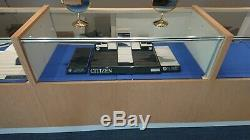 (6) Jewelry Store Showcases Glass Front Watch Display Cases