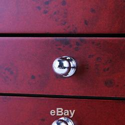6 Layer Fountain Pen Display Case Holder Collector Storage Organizer Box 78 Slot