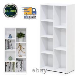 7 Cube Bookcase Bookshelf Storage Shelves Organizer Room Display Divider