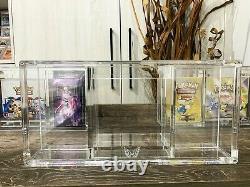 ARK-10X Pokemon All Booster Box & Theme Deck Acrylic Storage Clear Display Case