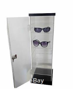 Acrylic Counter Case Eyewear Display 9-Pair Sunglass Reading Glass Retail Store