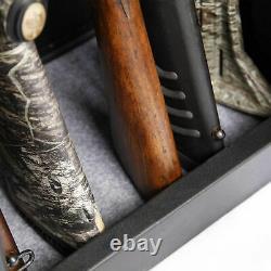 American Furniture Classics Rifle Metal Home Gun Safe Cabinet Storage (Open Box)