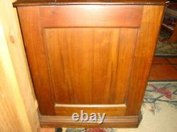 Antique Advertising Country Store Spool Cabinet Clark's 6 Drawer C. 1900-1910
