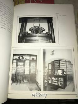 Antique Belgian Pharmacy/Drug Store Shelving, Counters, Bookcases/Display Cases