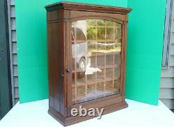 Antique DIAMOND DYES Oak Store Counter Display Pigeon Hole Cabinet NO ADV TIN