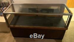 Antique Display Wood Glass Store Vintage Royal Show Case Co
