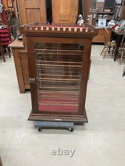 Antique General Store Ribbon cabinet