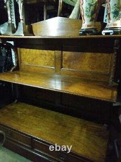 Antique General Store Wooden Display Cabinet