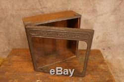 Antique J. B. Carr Biscuit Company Counter Store Display Case