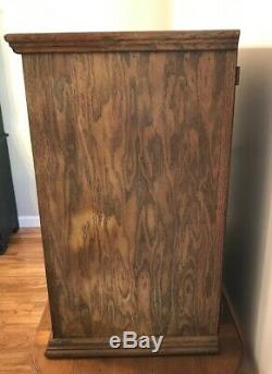 Antique Oak Counter Top Display Case General Store Apothecary Bakery