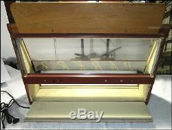 Antique Parker 21 Fountain Pen Store Display Counter Case withLight (A75)