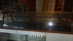 Antique Store counter top show case- Great shape- Vintage 1920s 6'3long