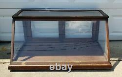 Antique Sun MFG Co Glass Showcase Country General Store Counter Top Display Case