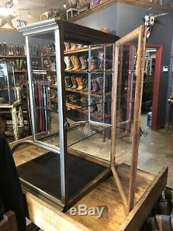 Antique country store display case tower nickel ca 1890