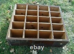 AntiqueWoodenGeneral StoreClothing20 CubicleCounter Shelf Storage Display