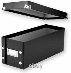 CD Storage Rack Box Holder Disk Case Media Display Space Store Organizer DVD