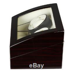 CRITIRON 4+6 Luxury Automatic Watch Winder Storage Box Display Case With Holder
