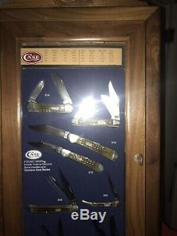 Case XX TRUE BONE Handles- 8 Knives with Store Display and boxes