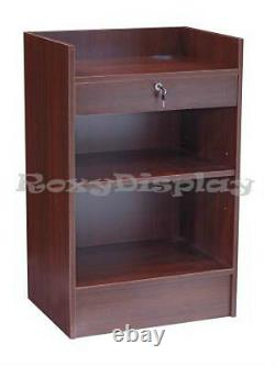 Cherry Cash Register Stand Top Shelf Display Store Fixture Knocked Down #SCR-CC