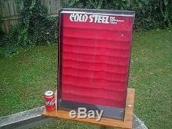 Cold Steel High-performance Knives Store Display Case