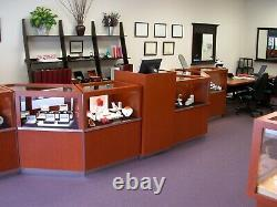 DISPLAY CASES Store Retail Commercial Glass Showcase. Complete store display