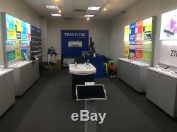 Electronic Display Cases 4 foot Store Fixture for Retail