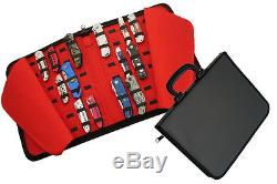 Folding Knife Storage Carrying Display Case Holds 40 Knives NEW