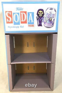Funko POP! SODA CAN Vinyl Figure Cardboard Retailer Store Display Case