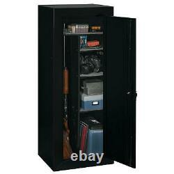 GUN FIREARM SAFE CABINET 18 Rifles Security Storage Locker Shelf Shotgun Pistol