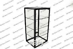 Glass Countertop Display Case Store Fixture Showcase with Front Lock #1T3O0P2