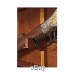 Gun Display Cabinet Mounted Wood Glass Case Lock Locking Rifle Shotgun Storage