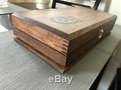 Hand Crafted Colt Solid wood Storage boxes, gun case, display box Black Epoxy