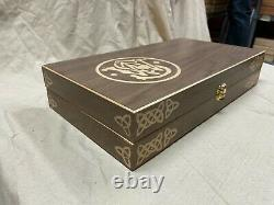 Hand Crafted Smith & Wesson Solid wood Storage boxes, gun case, display box