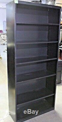 Hon Steel Six Shelf Bookcase Adjustable Display Storage Case 13.5D 34W 78H