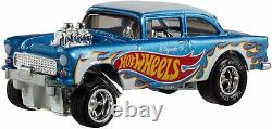 Hot Wheels 1/64 Scale Display Case Storage Cabinet Shelf + 1 Exclusive Vehicle