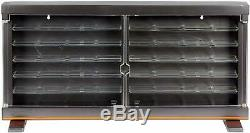 Hot Wheels 50 Cars Display Storage Case Wall Mountable Stand Alone Exclusive