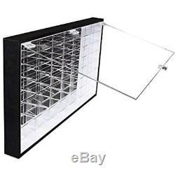 Hot Wheels Vehicles 1/64 Scale Diecast Display Case Storage Cabinet Shelf Wall X