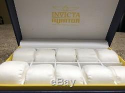 Invicta 10 Slot Watch Display Storage Case