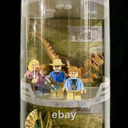 LEGO Jurassic World Tri-Level Collectible Store Display Case