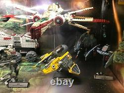 LEGO Star Wars Store Display Case Lighting and Sound and Complete Sets