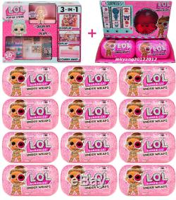 LOL Surprise Dolls Under Wraps Full Case 12 Balls With Display Box + PopUp Store
