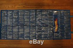 LOT 5 Hot Wheels Over The Door Hanging Storage Organizer Display Case 120 Cars