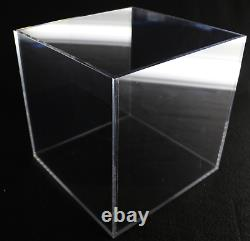 Large Acrylic Display Box Collectible Display Case Clear Store Display 16x16x16