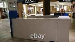 Large Mall Kiosk with Plenty of Storage