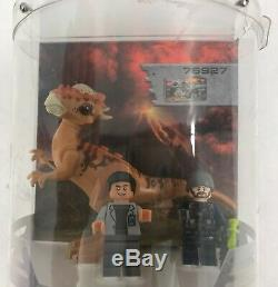 Lego Jurassic World Tri-Level Collectible Store Display Case with13 Characters