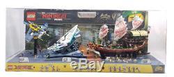 Lego Ninjago Movie Toys R Us Store Display Case Sets 70609 70616 70618