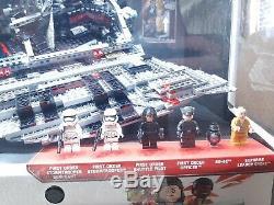 Lego Star Wars First Order Star Destroyer Toys R Us Store Display Case