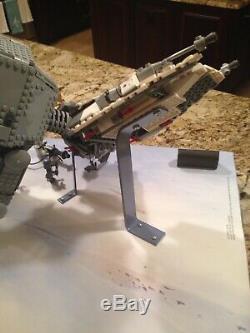 Lego Star Wars Store Display 75054 AT-AT 75049 Snowspeeder No Case Lights RARE