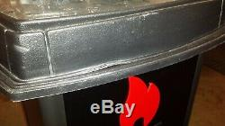 Lighted Zippo Lighter Display Case And Storage Stand Holds 96 Lighters
